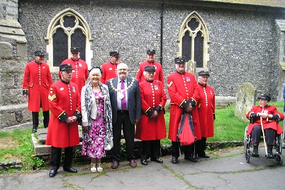 Chelsea Pensioners visit to St. Peter's Village Tour