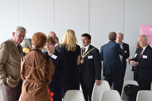 Mayors visit to Turner Contemporary Gallery