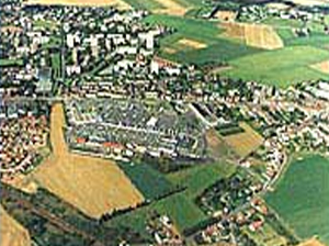 Aerial view of Wattignies