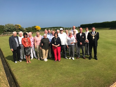 Charity bowls afternoon attendees