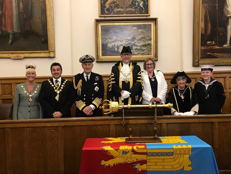 Ceremonial Mayor Making evening at Deal
